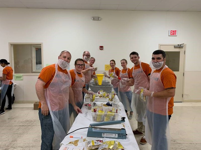 Adrenaline's Fall Service Activities Benefit Hunger Initiatives