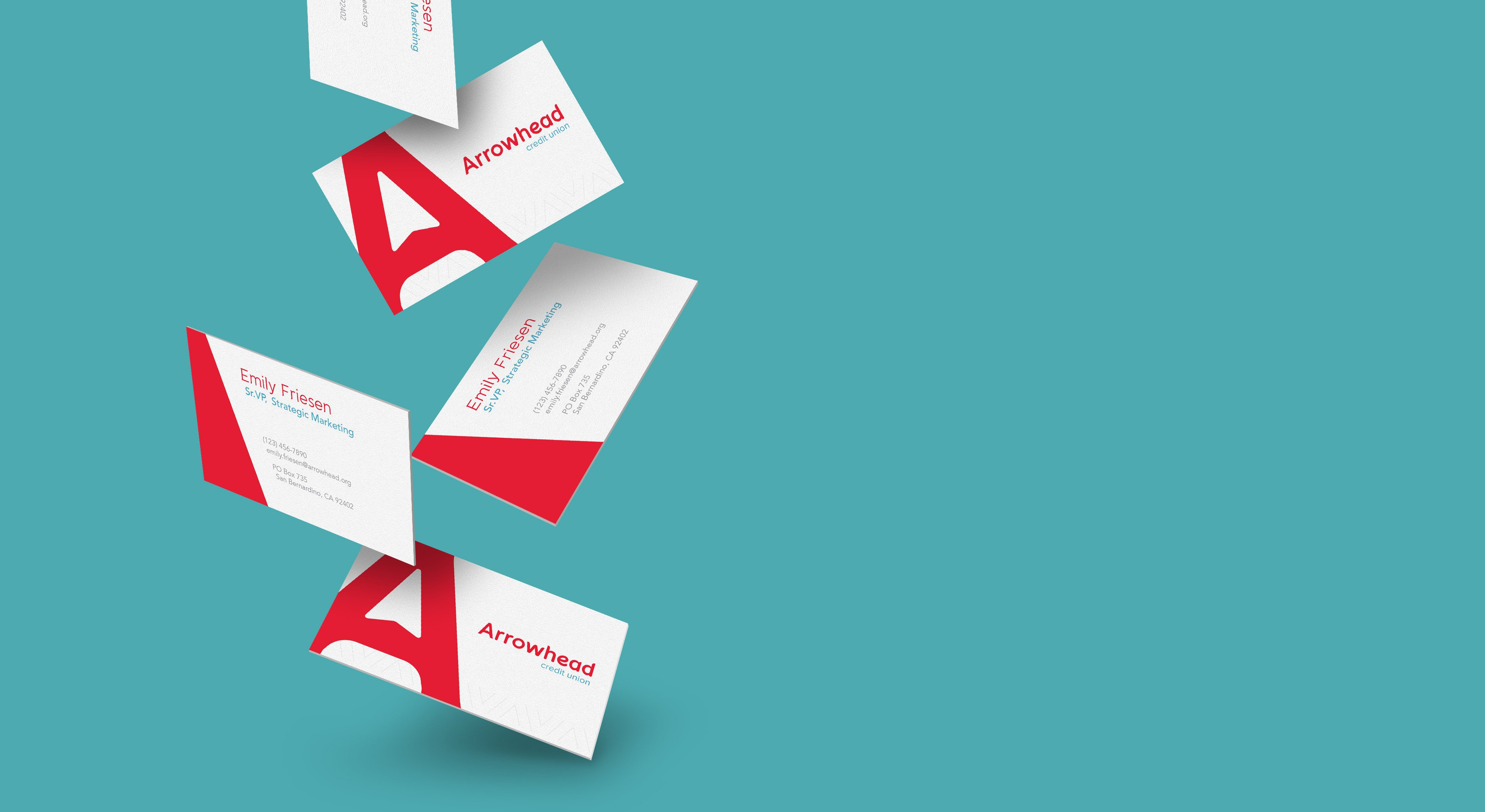 Arrowhead Credit Union brand identity
